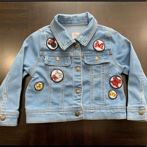 Disney Collection By Tutu Couture Denim Jacket